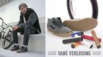 Gewinne anlässlich der Vans X Bruno Hoffmann Shop Party im Peoples Store ein fettes Preispaket bestehend aus jeweils einem Paar Schuhen, Reifen und Griffen.