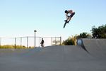Max clicked Turndown im Novato Skatepark, CA