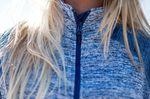 Blau-weß melierte Damen Jacke von Berghaus - Outdoor