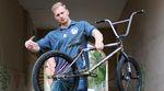 Leon Berthold von Gangbang Bikes ist bekannt für seine schrottigen BMX-Räder. Wir haben seinen aktuellen Müllhaufen mal genauer unter die Lupe genommen.