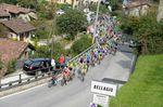 Der Ghisallo-Anstieg kam in diesem Jahr deutlich früher als in den vergangenen Rennen. (Foto: Sirotti)