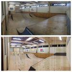 Neue Rampen in der XS-Halle des o40 BMX Parks in Eindhoven