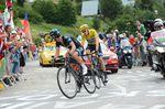 Richie Porte and Chris Froome, Tour de France 2013, stage 18, Alpe d