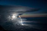 lightning-strike - Dieses typische Naturschauspiel sieht man vermehrt zwischen Amazonas und den Anden. Foto: Santiago Borja