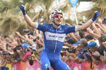 Elia Viviani (Quick-Step Floors) siegt auf der 2. Etappe des 101. Giro d