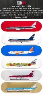 5Boro X Stefan Marx Airline Series