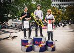Die Gewinner des Vertcontests der Amateure auf dem Bielefeld City Jam 2019