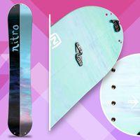 nitro volta, splitboard, snowboard