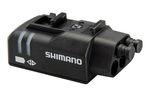 Shimano SM-EW90 A mit 3 Kanälen, LED-Kontrolleuchte für den Batteriestatus und Justageoption für das Schaltwerk.