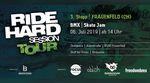 Der 3. Stopp der Ride Hard Session Tour 2019 findet am 6. Juli im Skatepark Frauenfeld in der Schweiz statt. Hier erfährst du mehr.