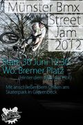 Münster-BMX-Street-Jam-Flyer