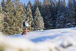 Die richtige Technik ist auf Skitouren entscheidend.