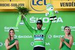 Sagan in grün: Nach seinem Etappensieg führt der Slovake in der Punktewertung. (Foto:)