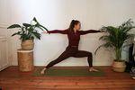 Warrior 2 Yoga für Freeskiiing