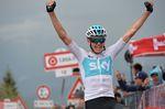 Chris Froome (Team Sky) gewinnt die 14. Etappe des 101. Giro d