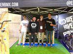 Das Team hinter Erigen BMX (v.l.n.r.): Joaquin, Jesús, Ivan und Luis