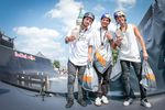 Die Gewinner des Munich Mash BMX Spine Ramp Contests 2017