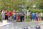 Flairwhip von Miguel Franzem auf dem BMX Männle Turnier 2016