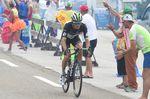 Serge Pauwels versuchte, sich abzusetzne und immerhin für einen Tag das gelbe Trikot zu holen. (Foto: Sirotti)