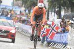 Schon im Vorfeld wurde Dumoulin als absoluter Favorit gehandelt - und der Niederländer lieferte das erwartete Ergebnis mit einer starken Leistung. (Foto: Sirotti)