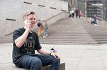 Felix Prangenberg hängte sich nach dem Truckdriver am Kölner Dom direkt ans Telefon, um seinem Vater davon zu erzählen