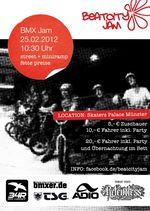 BeatCityJam 2012 Skaters Palace Münster Flyer