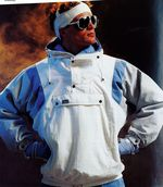 Kult von damals: Schöffels Bestseller kam 1983 als erste Schlupfjacke auf den Markt und wurde schnell zum absoluten Fashion-Must-have || Foto: Schöffel