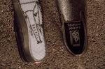 Courage Adams Slip-on BMX Colorway von VANS hat eine transparente Sohle