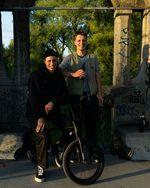 Quirin & Kilian Reichmeyer vor ihrer Abreise nach Frankreich