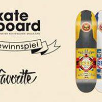 Skateboardmsm x Favorite Gewinnspiel