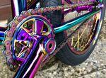 TLC Vintage BMX Kettenblatt in rainbow