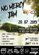 Am 20. Juli 2019 findet in Zwickau der No Mercy Jam statt, für den der Mercyland-Skatepark extra mit diversen Holzrampen gepimpt wird. Mehr dazu hier.