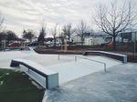 Rails und Ledges im Skatepark Frankfurt Kalbach