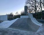Das Obstacle, das bisher hinter der Jumpbox im Schlachthof Flensburg stand, war für den Schwung, mit der man darauf zukam, viel zu klein. Dank diesem Geschoss hat der Park nun viel mehr Flow
