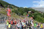Auf keinem anderen Pass wird so gefeiert wie auf der Alpe d