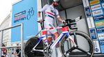 Bradley Wiggins (Team Sky) ist im Juni zum dritten Mal zum britischen Zeitfahrmeister gekürt worden. Auf der Tour of Britain konnte er erneut einen Zeitfahrsieg verbuchen. (Foto: Simon Wilkinson/SWPix.com)