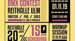 Beim diesjährigen BMX-Contest am 1. November 2019 in der Reithalle Ulm gibt es drei Dinge auf einmal zu feiern. Hier erfährst du, was.