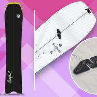 Amplid Surf Shuttle, Amplid, Splitboard, Snowboard, Splitboard Guide