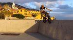 Der SIBMX-Fahrer Adrian Warnken hat auf der portugiesischen Atlantikinsel Madeira Urlaub gemacht. Natürlich hatte er sein Rädchen dabei …