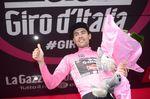 Tom Dumoulin führt weiter die Gesamtwertung mit 23 Sekunden Vorsprung. Foto: Sirotti