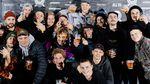 Bevor in der Skatehalle Aurich zum 8. Mal die freedombmx Awards verliehen wurden, hieß es für die Gäste unserer Preisverleihung: Antreten vor der Fotowand!