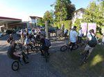 Auch in Kassel gibt: Kein BMX-Streetjam ohne Pitstopp an der Tanke!