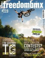 freedombmx 119 Cover Michael Meisel