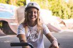 Ich habe Kim Lea Müller in Flensburg das erste Mal live in Aktion gesehen. Das Mädel kann definitiv BMX fahren!