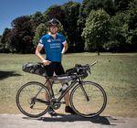 Jonas Deichmann will zwei Langstreckenrekorde auf dem Fahrrad aufstellen.
