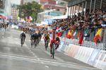 Michal Kwiatkowski (Polen) ist neuer Weltmeister auf dem Rennrad. Die Saison 2014 endet für ihn damit erfolgreich. (Foto: Sirotti)