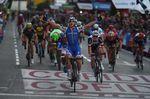 Matteo Trentin holt sich den Etappensieg in Madrid auf der letzten Etappe der Vuelta a España 2017. (Foto: Sirotti)