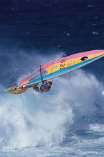 Dakine Windsurfen in 1980.