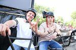 Metalhorns, immer beste: Evan Brandes (links) und Timo Schulze