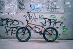Bruno Hoffmanns Signaturerahmen von Federal Bikes im Burt Orange Colorway